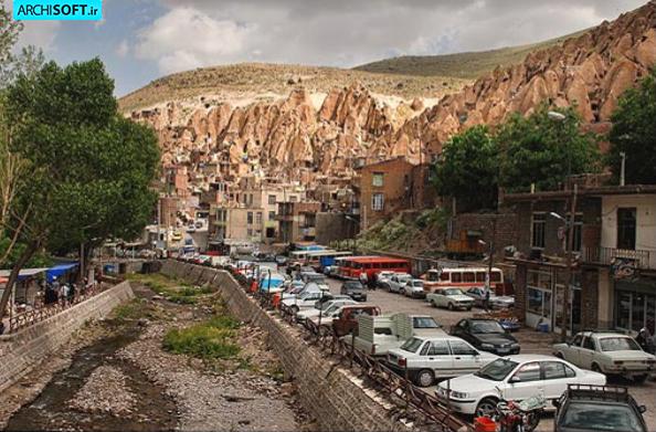 تحلیل معماری روستای کندوان