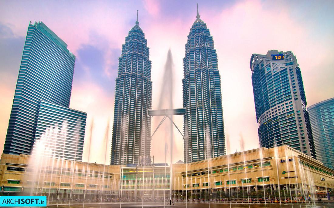 ساختمان های بلند