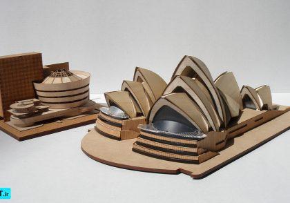 ساخت ماکت خلاقانه معماری