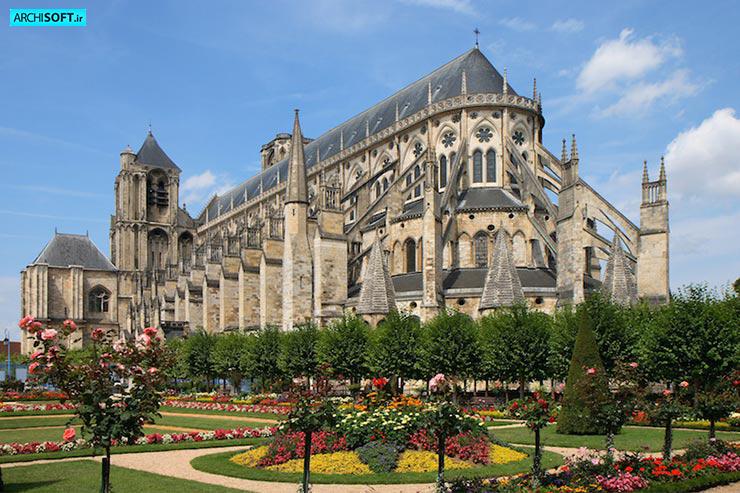 معرفی کلیساهای فرانسه