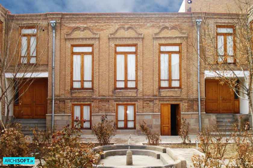 دانلود رایگان پروژه مرمت خانه صلح جو