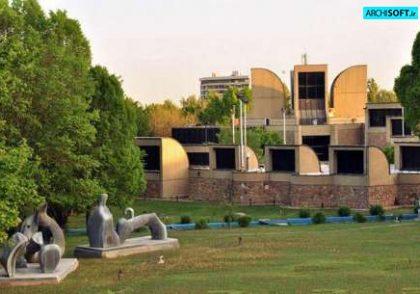 فایل اتوکد موزه هنرهای معاصر